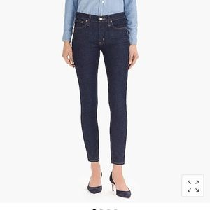 J. Crew Toothpick Jeans Classic Wash Sz 30 or 8